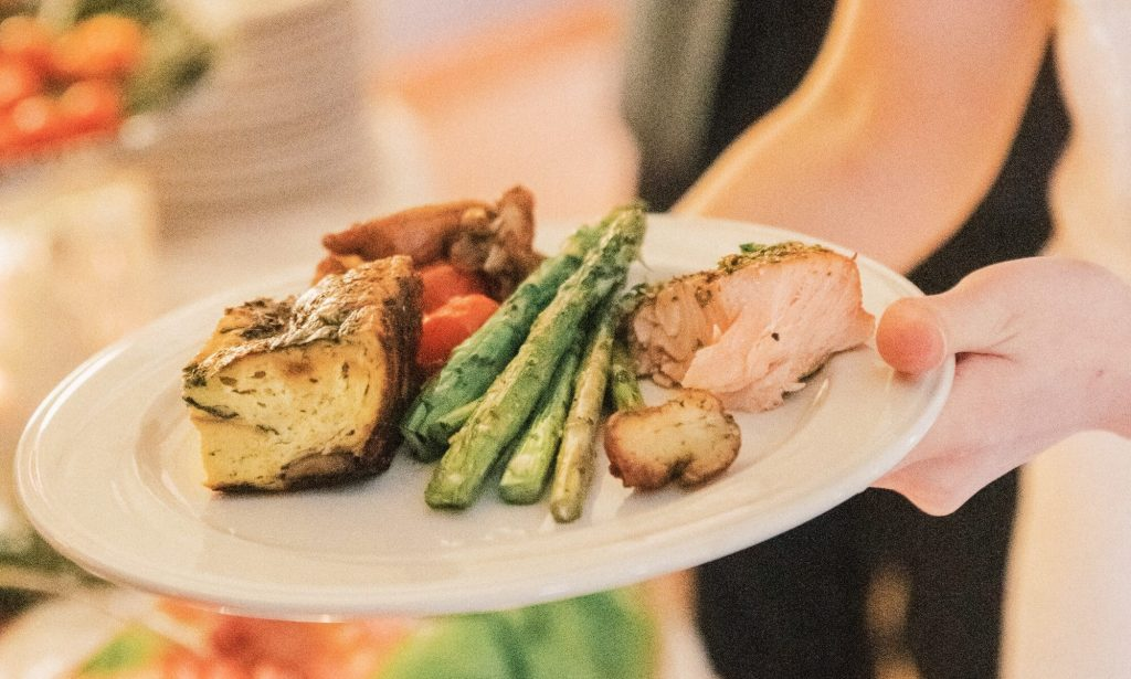 Party and Private Catering Services | Philadelphia and the Main Line | Quiche and Asparagus