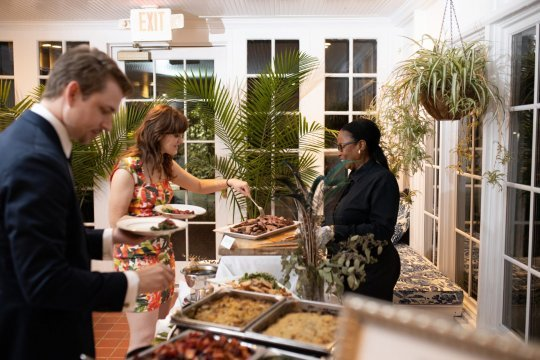 Food Station Wedding Reception | Perfect Setting Catering
